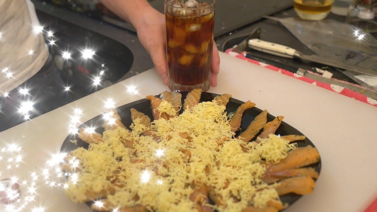 Жирная вредная закуска на 1 января