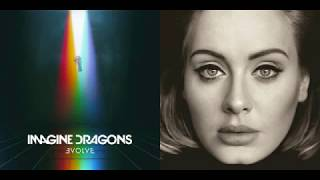 send my thunder mashup   imagine dragons adele