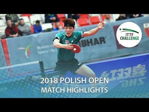 2018 Polish Open Highlights I Dang Qiu vs Jeoung Youngsik (1/4)