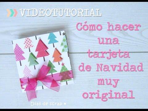 C mo hacer una tarjeta de navidad original paso a paso - Como hacer una tarjeta de navidad original ...