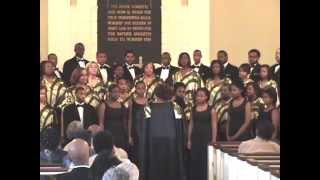 "United Voices Of Detroit perform ""Almighty God Of Our Fathers"""