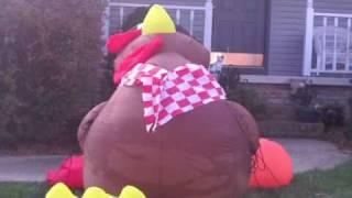 Airblown Inflatable Turkey by Gemmy