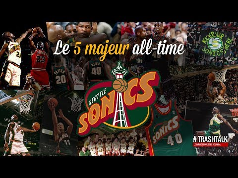 Seattle : le 5 majeur all-time des Sonics !