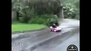 ACIDENTE DE CARRO GRAVÍSSIMO (VIDEOS ENGRAÇADOS)