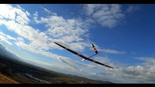 Just learning to fly my Respect F3F part I