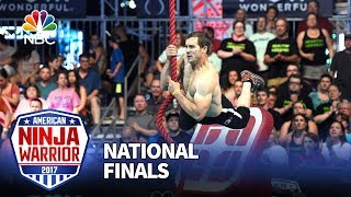 Lance Pekus at the Las Vegas National Finals: Stage 1 - American Ninja Warrior 2017
