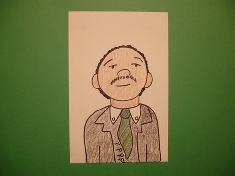 Let's Draw Dr. Martin Luther King!