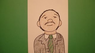 martin luther king drawing lesson