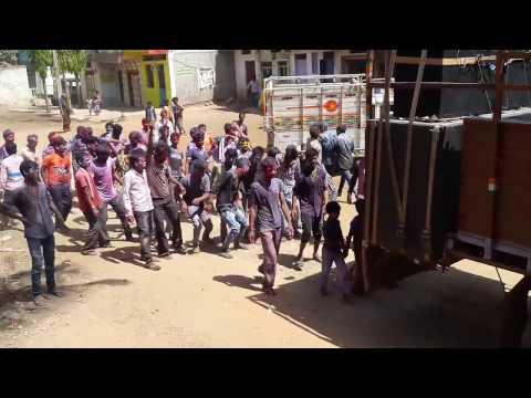 Rang panchami in alirajpur district with adivasi dj songs 2017