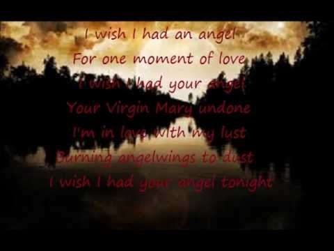 I Wish I Had An Angel - Nightwish Lyrics