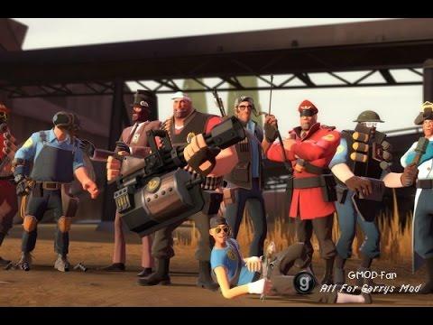 Скачать Контент Team Fortress 2 Для Гаррис Мод 13 - фото 6