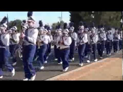 Beaumont High School Band -- Homecoming Parade 2013