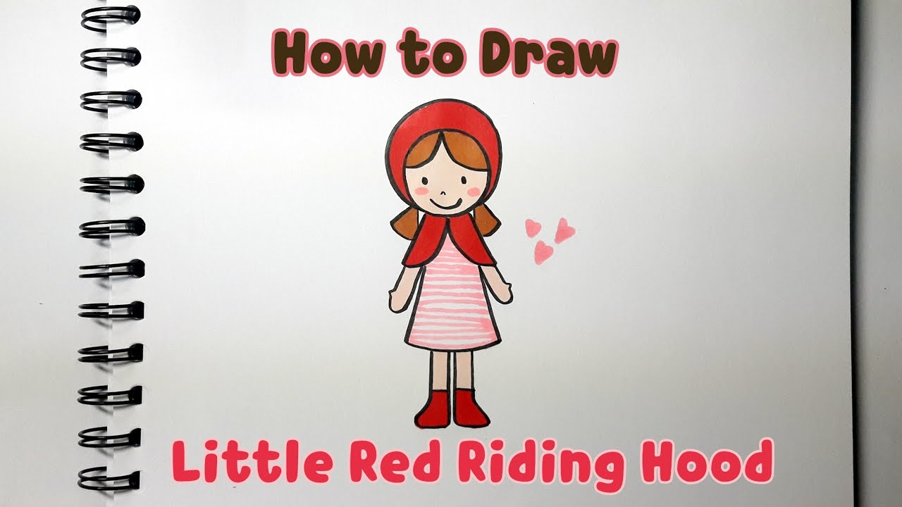 How to Draw Little Red Riding hood #1