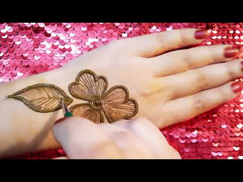 Eid mehndi design ||  Super easy and trending mehndi design tutorial thumbnail