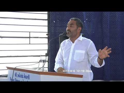 Dr.Jagdish Trivedi on Quit Tobacco at Surendranagar Day - 1