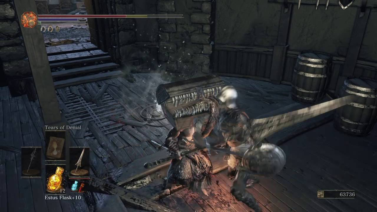 Dark Souls Iii How To Obtain The Winged Knight Twinaxes Youtube