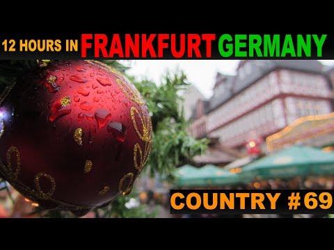 A Tourist's Guide to Frankfurt, Germany