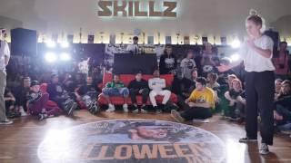 SKILLZ Halloween Jam 2016   popping open finals 3 4   Kamile vs Greta