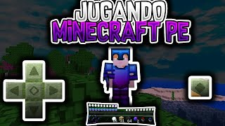 Mi transmisión en vivo de Minecraft con DU Recorder