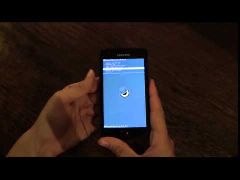 Tutorial Rooting and Installing CyanogenMod with Odin on the Samsung Galaxy  S2 i9100 YouTube