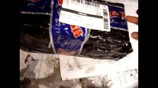 unboxing запчастей на Honda Dio 34