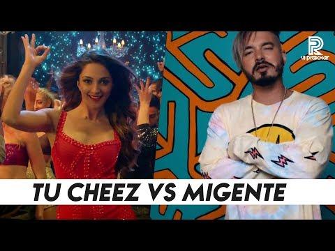 Tu Cheez Badi Vs Mi Gente - Mashup Video