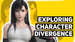 Exploring Final Fantasy 7 Remake Character Divergence (To Look Backward, or Forward?)