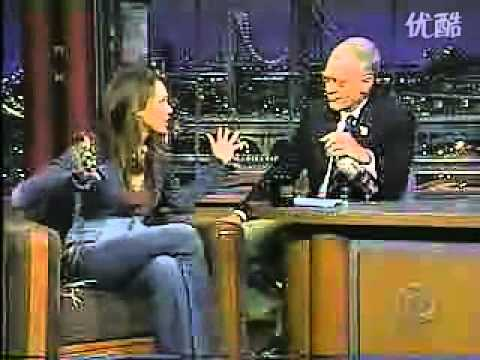 Jessica Alba   David Letterman    2002