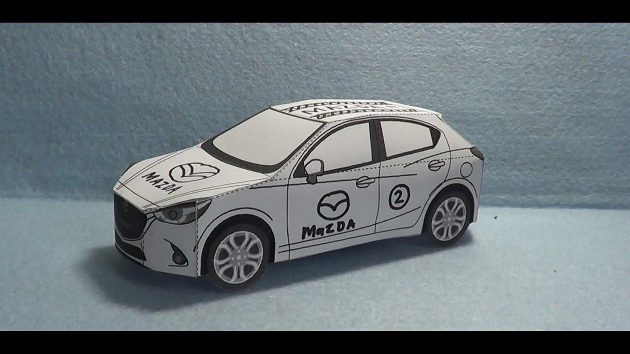 Papercraft Mazda 2 Youtube