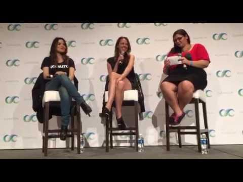 ClexaCon 2017 - Shoot Panel - Amy Acker & Sarah Shahi (2017-03-04)