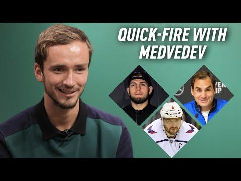 Daniil Medvedev takes rapid-fire questions