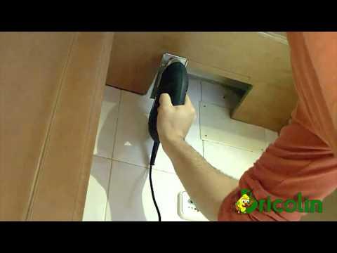 Poner una campana extractora en la cocina doovi - Como colocar una campana extractora ...