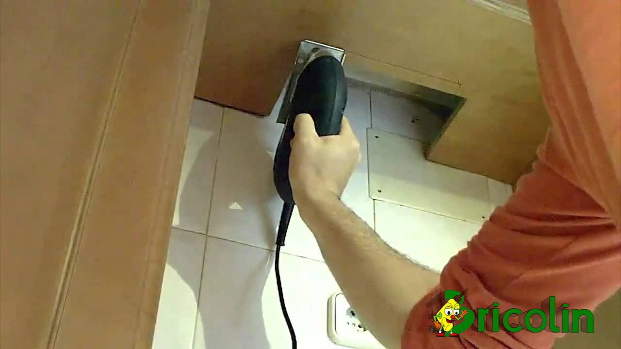 Como colocar una campana extractora decorativa parte 1