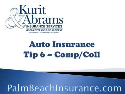 KAIS Auto Insurance Tip 6 - Comp and Collision Cov...
