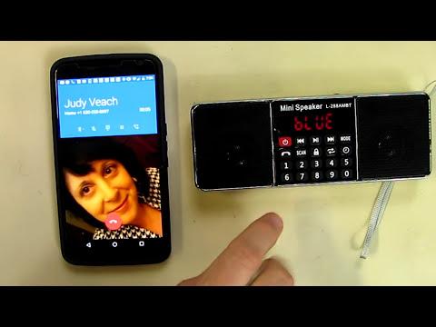 Portable Mutifunctional Bluetooth Dual Channel Digital AM / FM Radio Media Speaker Wireless Speaker