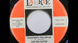 Teardrops Follow Me - Del Satins