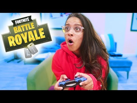 PLAY FORTNITE FOR THE FIRST TIME