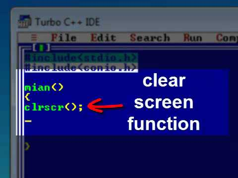 How to install turbo c++: compile and run a c program.