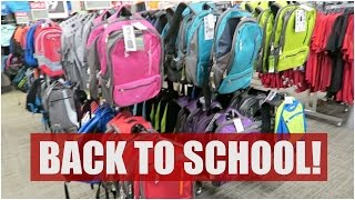 BACK TO SCHOOL SHOPPING! - July 15, 2015