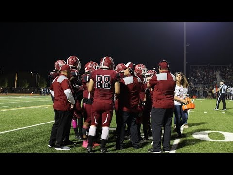 Covina High School Varsity Football 2017-2018