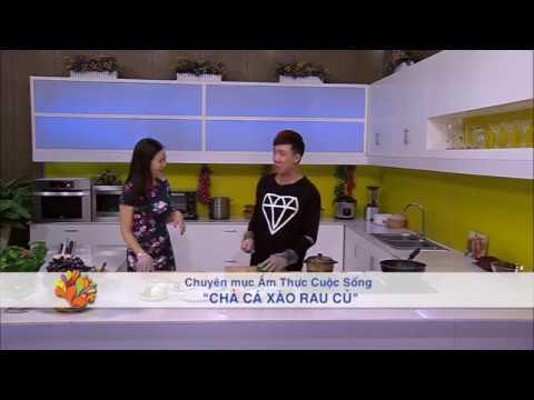 """Trấn Thành vào bếp với món """"Chả cá xào rau củ"""" - Vui Sống Mỗi Ngày [VTV3 – 24.10.2014"""