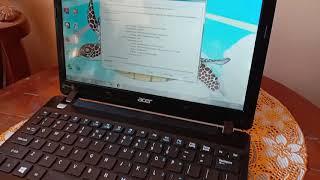 Notebook Acer Aspire one second bekas ok . Bisa cod Surabaya Sidoarjo