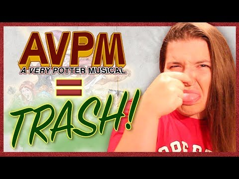 A Very Potter Musical is TRASH!! || Maddness Reviews: AVPM