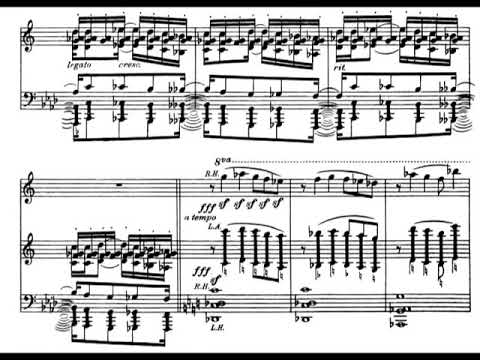 Henry Cowell - Five Encores to Dynamic Motion for Piano, HC 213 (1916) [Score-Video]
