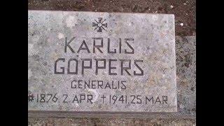 012 Riga Latvia brothers cemetery bralu kapi.AVI