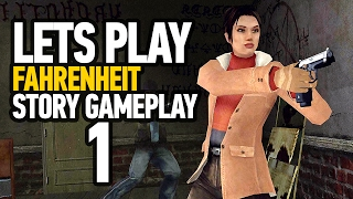Fahrenheit : Indigo Prophecy PS4 Version Walkthrough Part 1 - Uncensored Version (1080P)