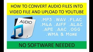 How To Convert Your Audio Files Into A Video File Using Powerpoint