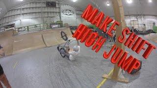 MAKE SHIFT HIGH JUMP