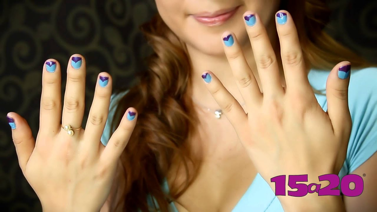 Tutorial: decoración de uñas fácil y sencillo - YouTube