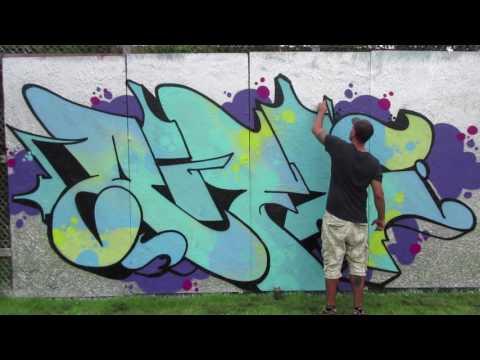 copenhagen graffiti walls - Rifl in Svendborg